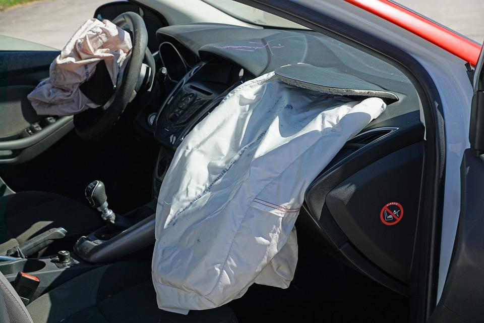 auto po havárii