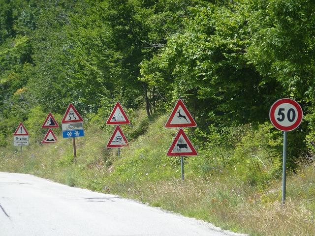 značky u silnice