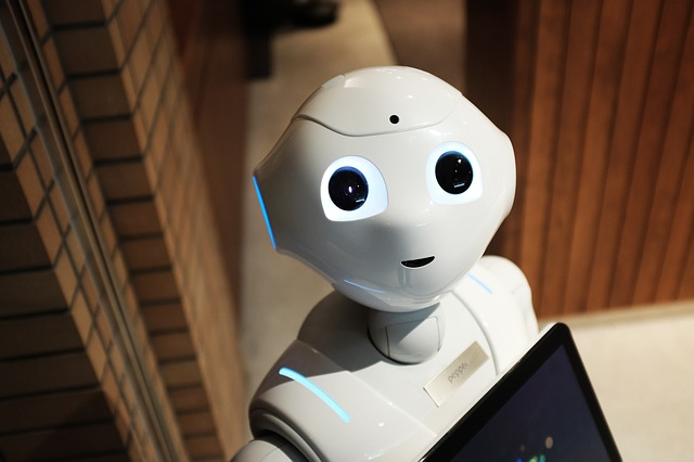 malinký robot