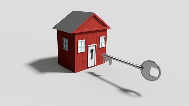 klíč od domečku