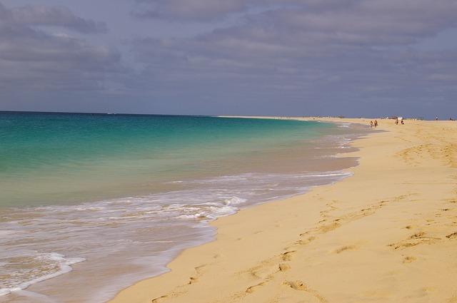 čistá pláž