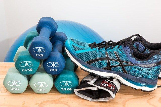 Fitness pomůcky