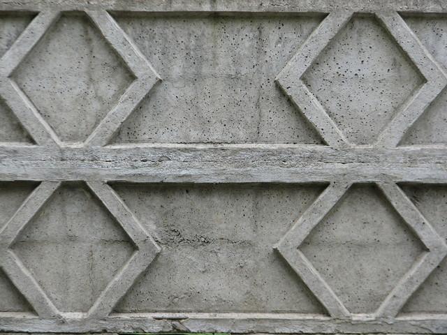 betonový plot